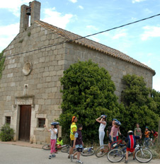 The cycle touring network of the Baix Empordà