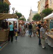 Mercado del atardecer
