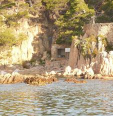 Von der Cala Pedrosa Bucht bis Aigua Xelida