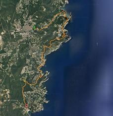 Sender GR-92 - De Begur a Tamariu (per la costa)