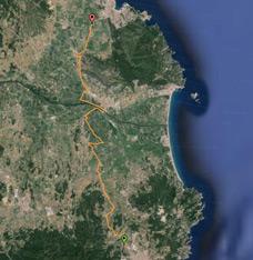Traçat Pirinexus al Baix Empordà